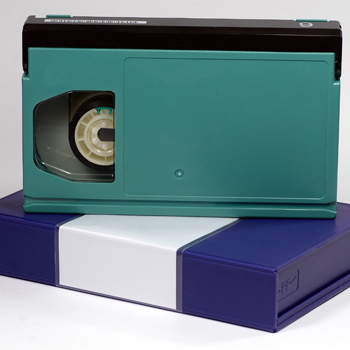 Image of Beta video tape to transfer to DVD